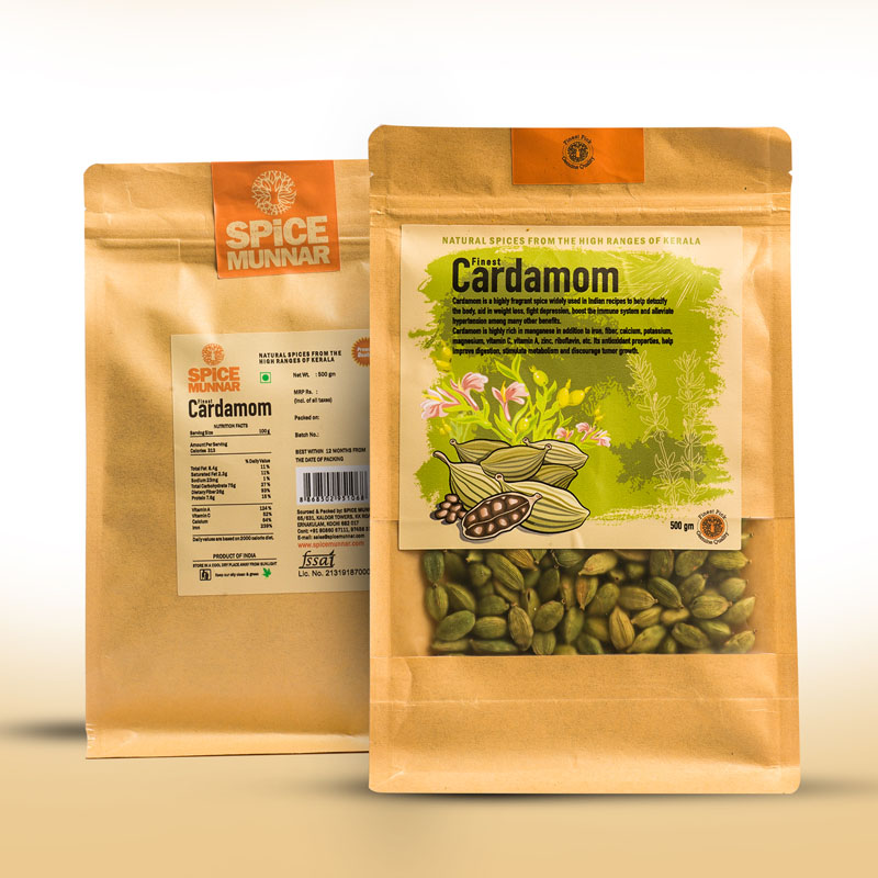 cardamom 8mm - Kerala Spices