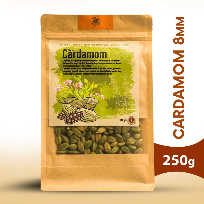 cardamom 8mm - Kerala Spices