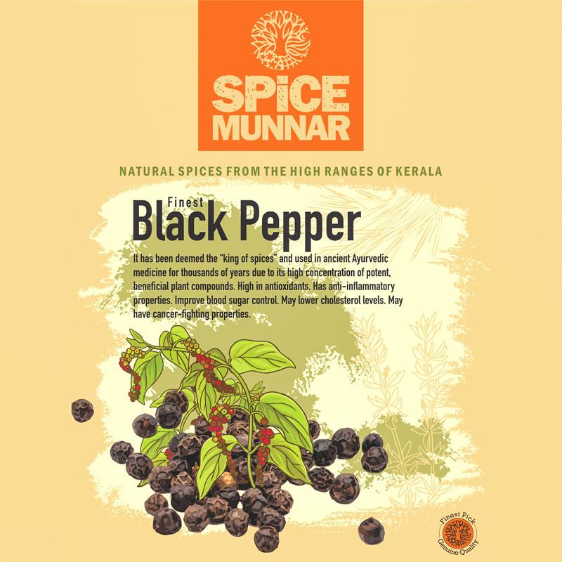 black pepper- Kerala Spices