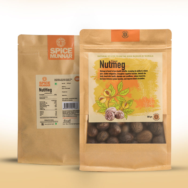 nutmeg - spice Kerala