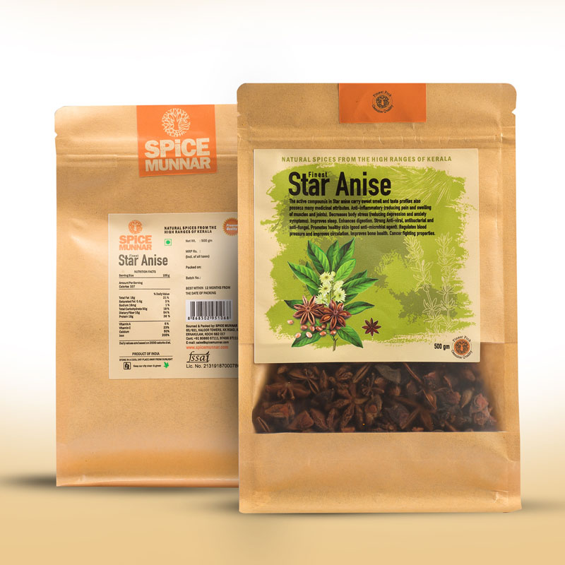 Star anise - spice kerala