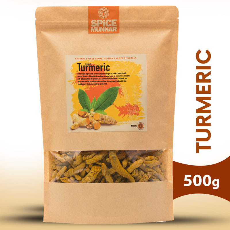 Turmeric - Spices of Kerala