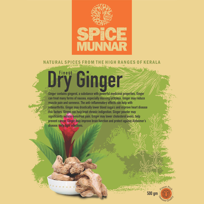 Dry ginger - Spice-munnar