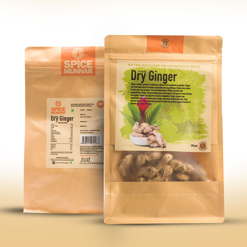 Dry-ginger - kerala spices