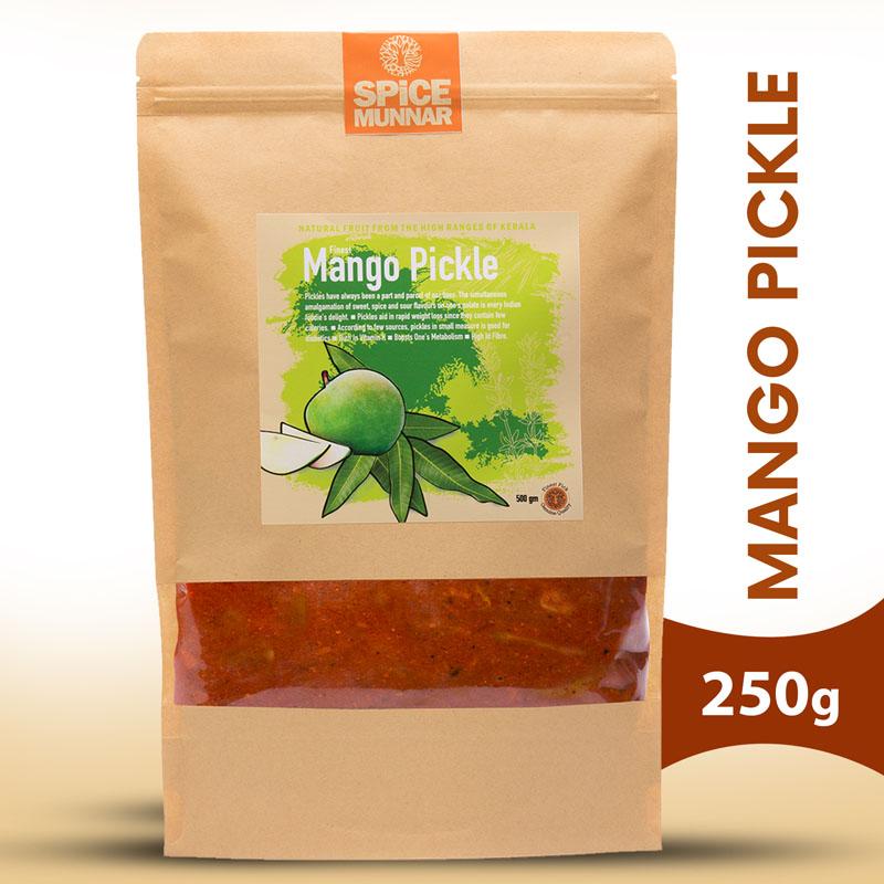 Mango-pickle - Spice Munnar