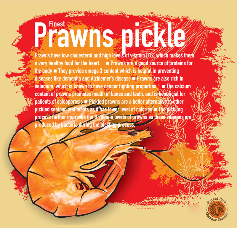 Prawns pickle - Kerala Spices