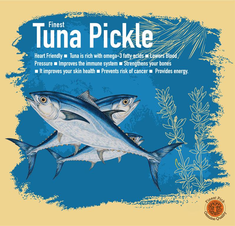 Tuna - pickle - Kerala Spices