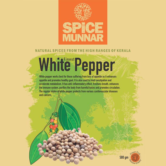 White pepper - Spice Munnar