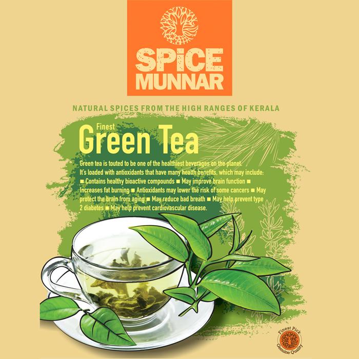 green tea - Spice-munnar