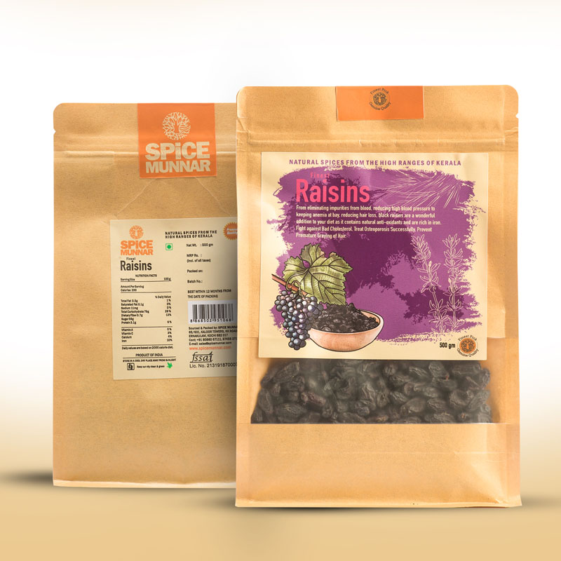 raisins Black - Kerala Spices Dry fruits