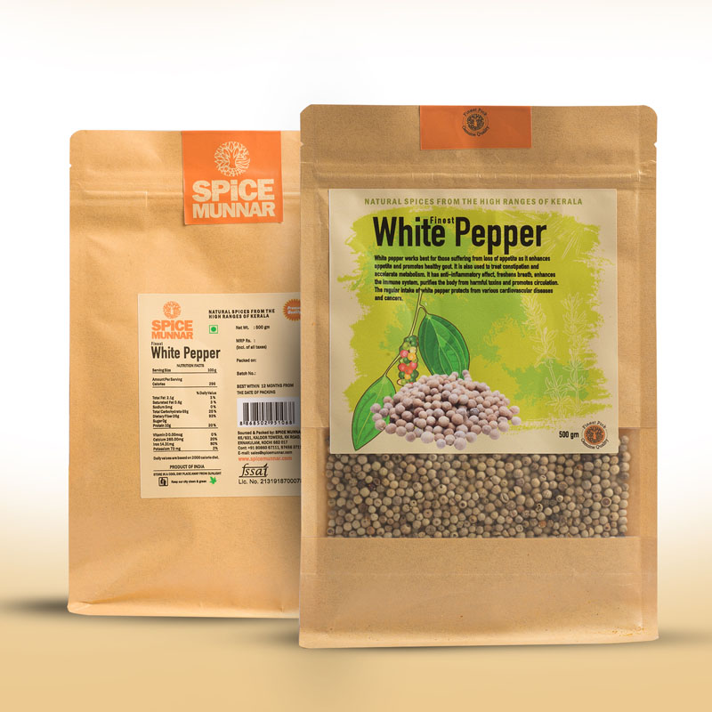 white pepper -spices kerala