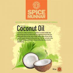 Coconut oil - Spice Munnar