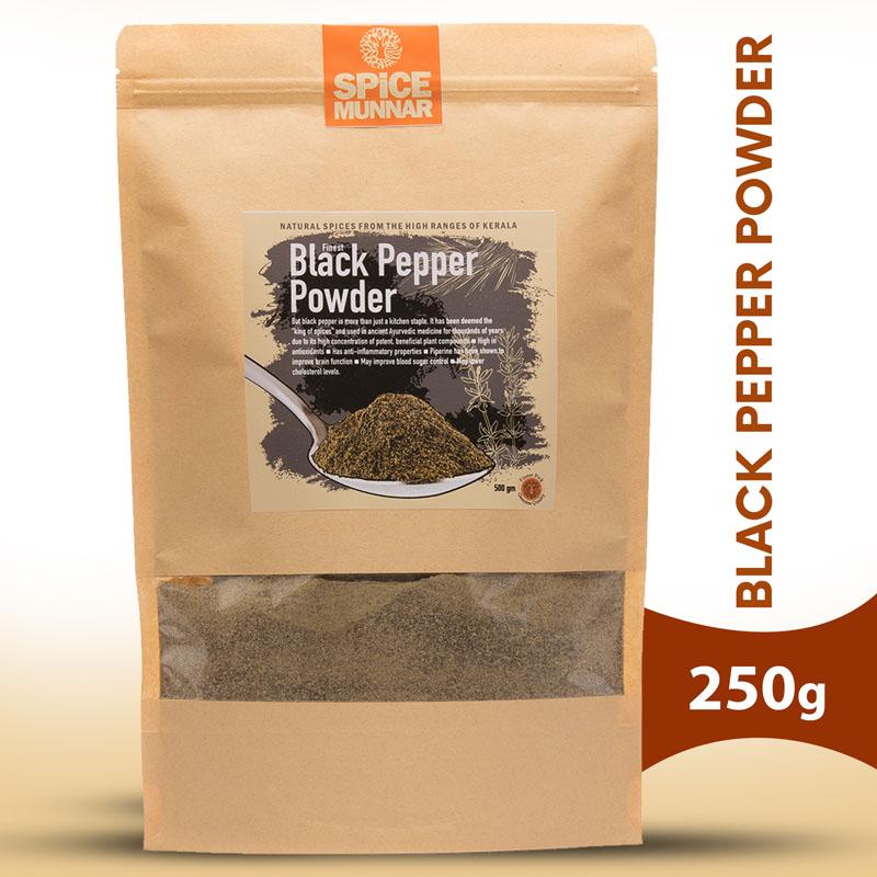Black-pepper-powder - kerala spices