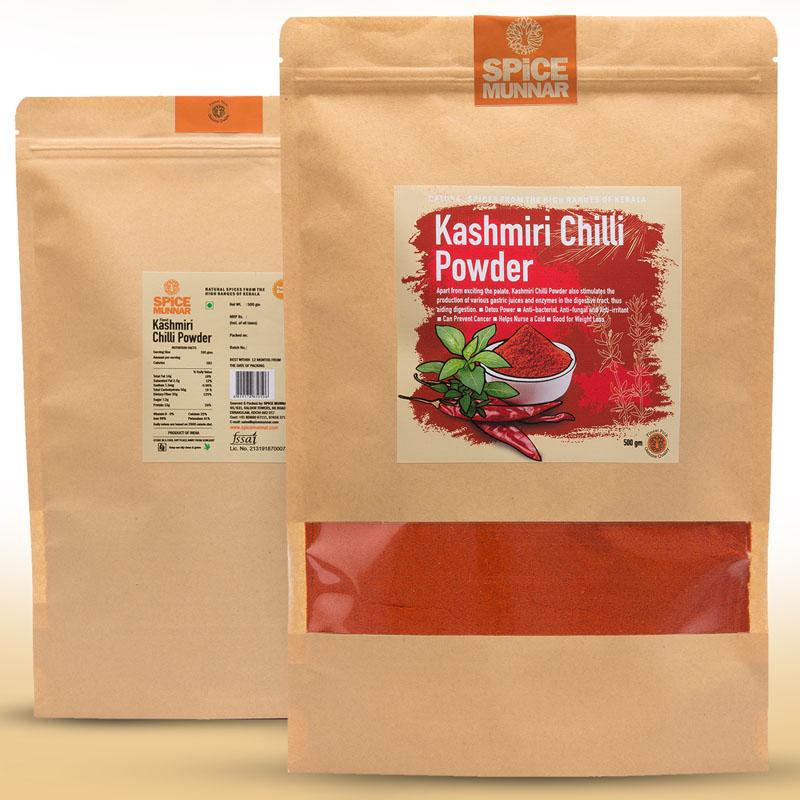 kashmiri chilli Powder - Spice Munnar