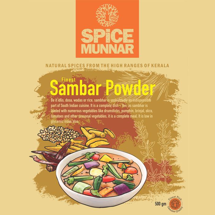 Sambar powder spice Munnar