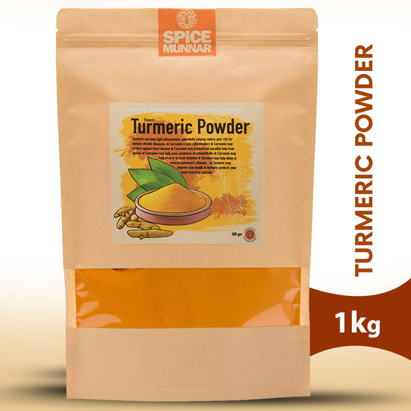 Turmeric powder - spicesof Kerala