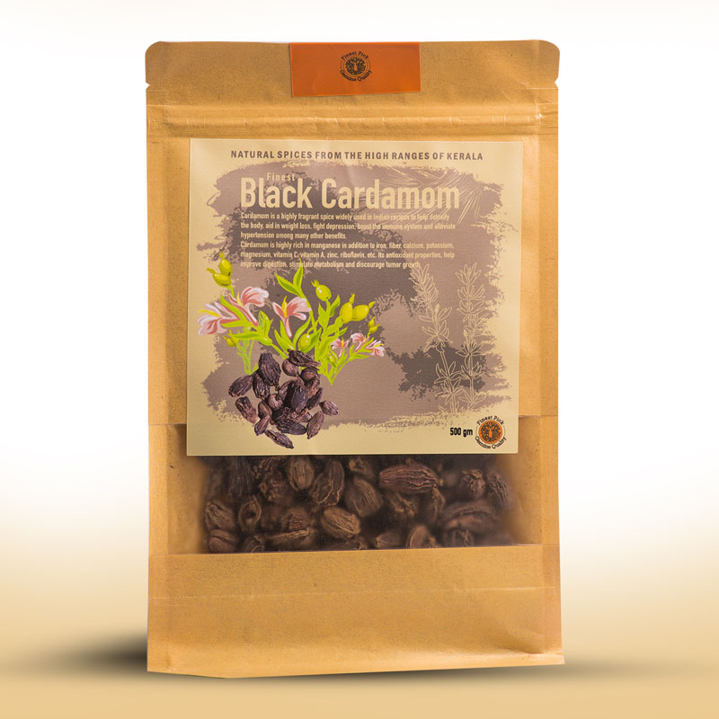 black cardamom Kerala spices