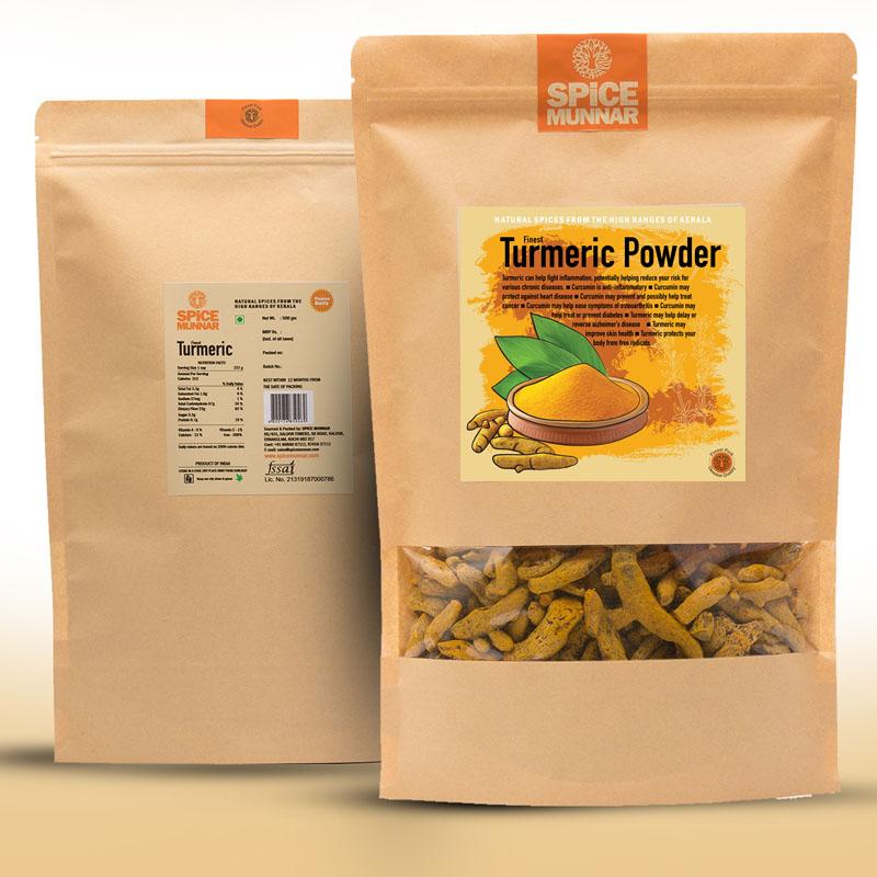 turmeric - powder-kerala-spices