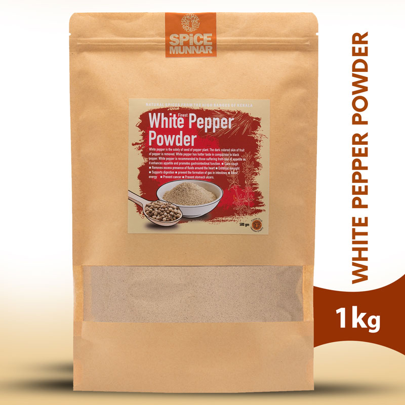 white pepper powder - spices of kerala